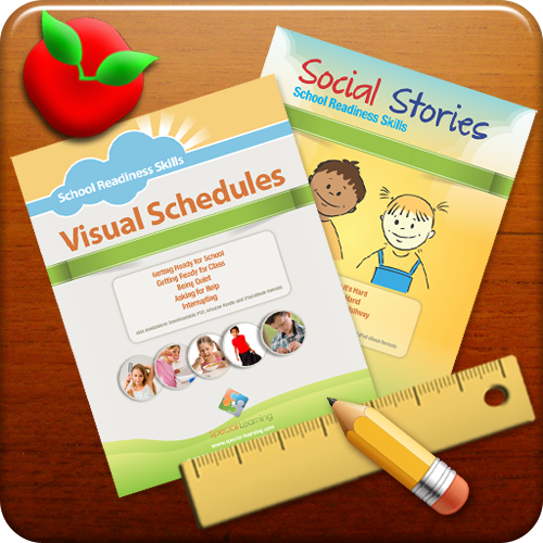 Building Basic Social Skills and Visual Schedule Curriculum Bundle: image 1