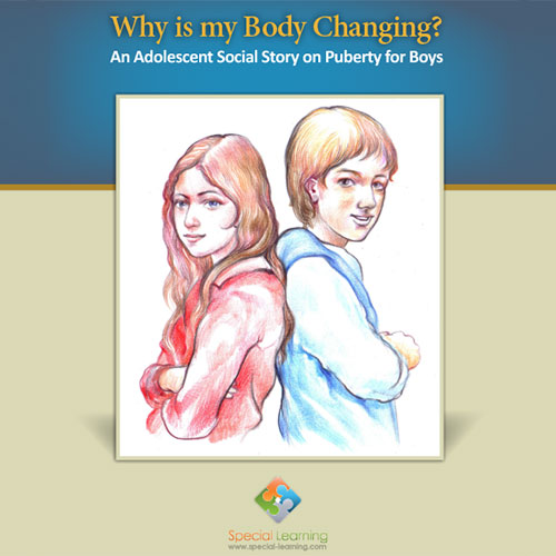 Why is my Body Changing? Puberty for Boys Social Story Curriculum: image 1