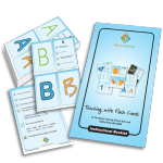 Teaching Letters: Building Early Language with Flashcards