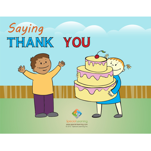Saying Thank You Social Story Curriculum: image 1