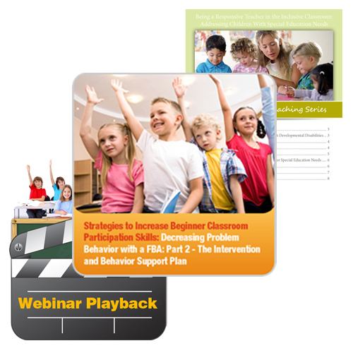 Classroom Participation Training Kit: image 1
