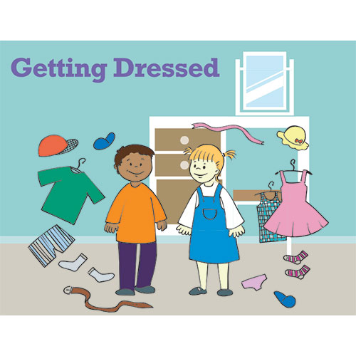 Getting Dressed Social Story Curriculum: image 1