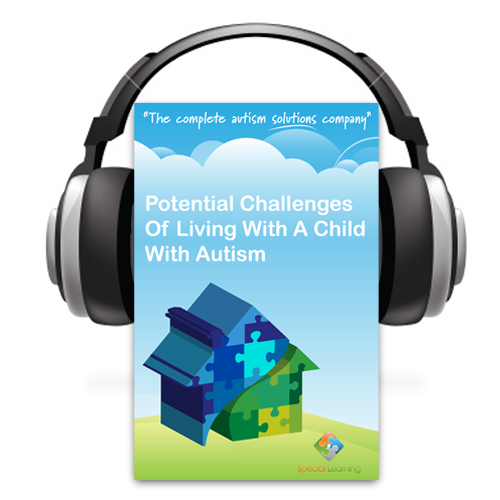 Potential Challenges of Living With A Child With Autism- E-book and Audio Book Set: image 1