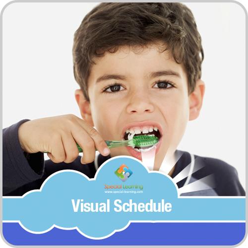 Brushing Teeth Boy Visual Schedule: image 1