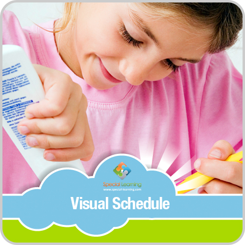 Brushing Teeth Girl Visual Schedule: image 1