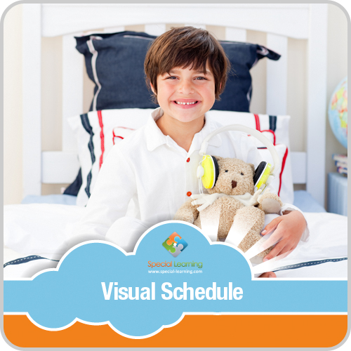 Getting Ready for Bed Boy Visual Schedule: image 1