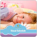 Getting Ready for Bed Girl Visual Schedule