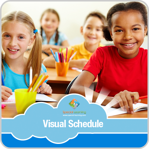 Getting Ready for Class Visual Schedule: image 1