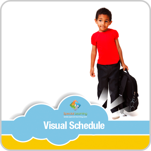 Getting Ready for School Boy Visual Schedule: image 1