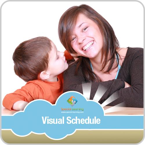 Interrupting Boy Visual Schedule: image 1