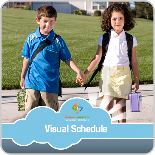 Crossing the Street Visual Schedule: image 1