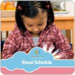 Getting Dressed Girl Visual Schedule