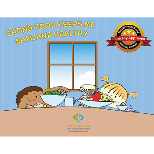 Eating Food Keeps me Safe and Healthy Social Story Curriculum: image 1