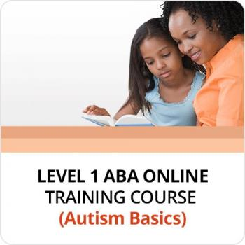 Level 1 ABA Online Training Course (Autism Basic)