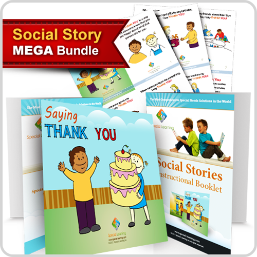 Social Story Curriculum Mega Bundle (23 Individual Titles): image 1