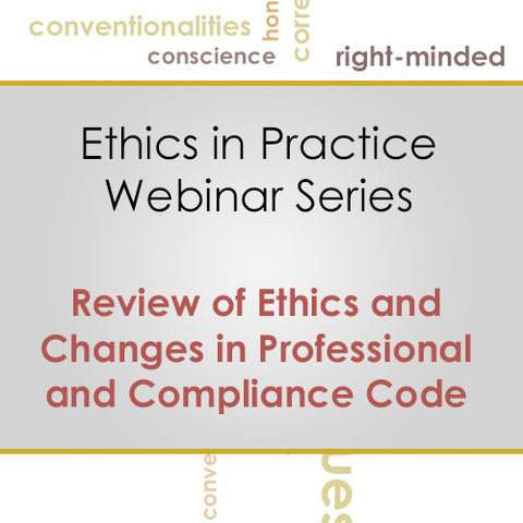 Ethics: Review of Ethics and Changes in Professional and Compliance Code (JANUARY 2016): image 1