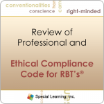 Ethics: Review of Professional and Ethical Compliance Code for RBTs (MAY 2016)