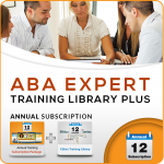 ANNUAL ABA Expert Training Library PLUS