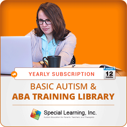 ANNUAL Level 1 Basic Autism and ABA Training Library (8 Modules): image 1