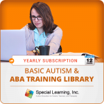 ANNUAL Level 1 Basic Autism and ABA Training Library (9 Modules)