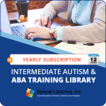 ANNUAL SUBSCRIPTION: Intermediate Autism and ABA Training Library