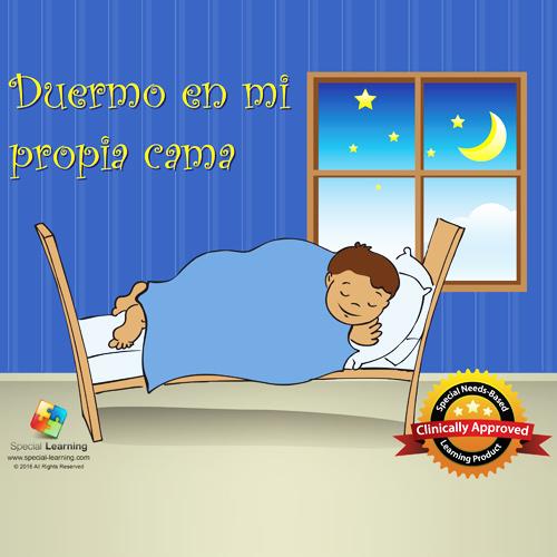"""Historia Social """"Duermo en mi cama"""" Plan de Estudios: image 1"""