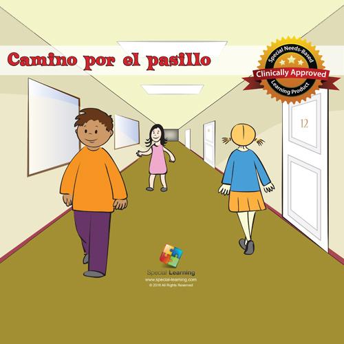 """Historia Social """"Camino por el pasillo"""" Plan de Estudios: image 1"""