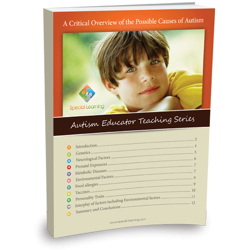A Critical Overview of the Possible Causes of Autism - Autism Educator Teaching Series: image 1