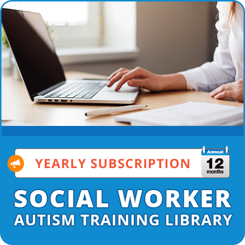 ANNUAL SUBSCRIPTION: Social Worker Autism Training Library: image 1