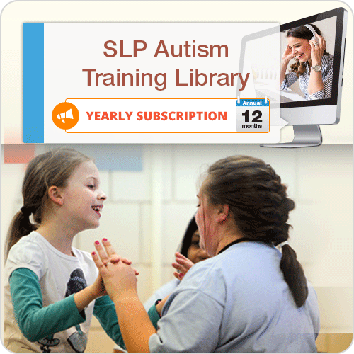ANNUAL SUBSCRIPTION: SLP Autism Training Library: image 1