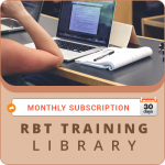 MONTHLY SUBSCRIPTION: RBT Training Library