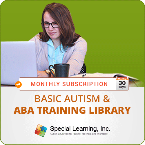 MONTHLY SUBSCRIPTION: Level 1 (Basic Autism and ABA Training Library): image 1