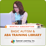 MONTHLY SUBSCRIPTION: Level 1 (Basic Autism and ABA Training Library)