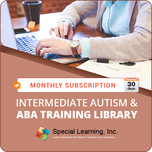 MONTHLY SUBSCRIPTION: Level 2 (Intermediate Autism and ABA Training Library): image 1