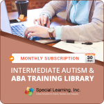 MONTHLY SUBSCRIPTION: Level 2 (Intermediate Autism and ABA Training Library)