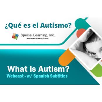 ¿Qué es el Autismo? - What is Autism? Webcast - w/ Spanish Subtitles: image 2