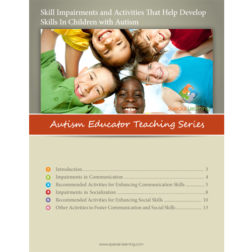 Skill Impairments and Activities That Help Develop Skills in Children with Autism- Autism Educator Teaching Series: image 1