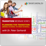 Transition Series with Dr. Peter Gerhardt: Planning for Transition (Middle School to High School)
