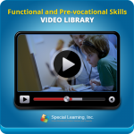 MONTHLY SUBSCRIPTION: Functional and Pre-vocational Skills Video Library