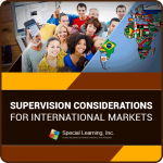 Supervision Considerations for International Markets