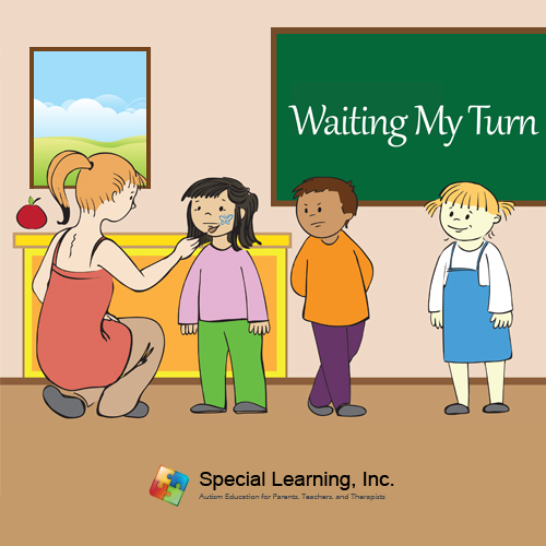 Waiting My Turn Social Story Curriculum: image 1