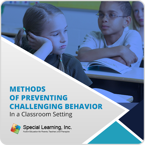 Methods of Preventing Challenging Behavior: image 1