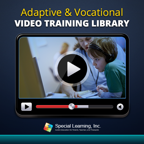 Adaptive and Vocational Video Training Library: A Tool to Teach Adaptive, Life and Vocational Skills Using ABA: image 1