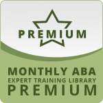 MONTHLY RECURRING SUBSCRIPTION: ABA Expert Training Library PREMIUM