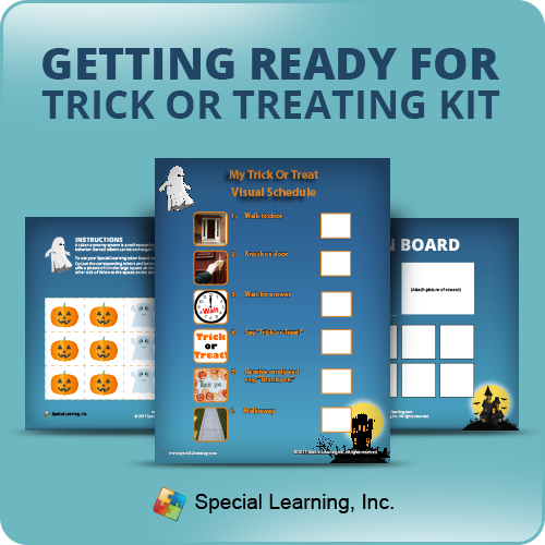 Getting Ready for Trick-or-Treating Learning Kit: image 1