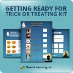 Getting Ready for Trick-or-Treating Learning Kit