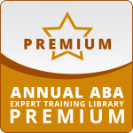 ANNUAL SUBSCRIPTION: ABA Expert Training Library PREMIUM