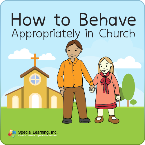 How to Behave Appropriately in Church Social Story: image 1