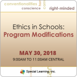 Ethics in Schools: Program Modifications with Jon Bailey, PhD, BCBA-D (May 2018)