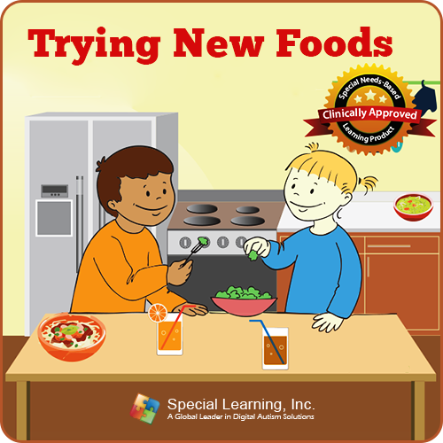 Trying New Food Social Story Curriculum: image 1